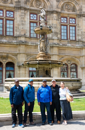 DAY 8 - TRAVELLING FROM VIENNA/AUSTRIA TO BAZANOWICE/POLAND